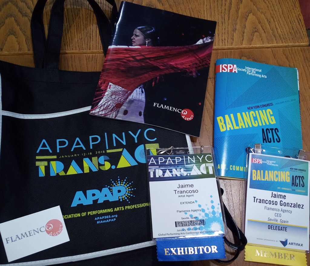 Flamenco Agency on the road: ISPA (NYC), APAP (NYC) & FITUR(Madrid)